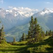 Stock Photo: Hohe Tauern with GrossGlockner, Kitzsteinhorn and Gross Wiesbachhorn
