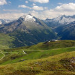 Stock Photo: Gerlospass, Hohe Tauern and Zillertaler Alpen