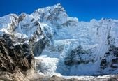View from Everest base camp — ストック写真