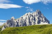 Crode Dei Longerin - Alpi Carniche or Karnische Alpen - Dolomiti - Italy — Stock Photo