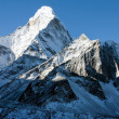 Stock Photo: AmDablam - way to Everest base camp - Nepal