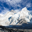 Panoramic view of Mount Everest — Stock Photo