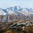 Panoramic view of Rohace, West Tatra mountains, Slovakia, Poland — Stock Photo