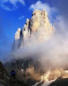 Cima di campido in pale di san martino - dolomiti italy — Stock Photo