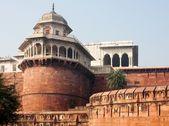 アーグラ城塞アグラ、インドにあるユネスコ世界遺産です。 — ストック写真