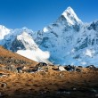 Ama Dablam - way to everest base camp — Stock Photo