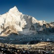 View of Everest and Nuptse from Kala Patthar — Stock Photo #23531517