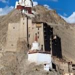 Leh Palace - Namgyal Tsemo Gompa - Leh - Ladakh - Jammu and Kashmir - India — Stock Photo