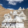 Stupas around Peh - Ladakh - India — Stock Photo