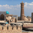 Panoramic view of bukharfrom Ark - Uzbekistan — Stock Photo #40314975