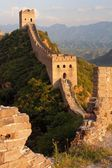 Evening Great Wall - China — Foto Stock
