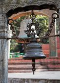 Bell in Swayambhunath stupa - Kathmandu - Nepal — Stock Photo