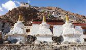 Karsha gompa - monasterio budista en zanskar Valle - ladakh - jammu y Cachemira - india — Foto de Stock