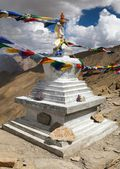Stupa in Hanuma La Pass Zanskar trek - Ladakh - India — Stock Photo