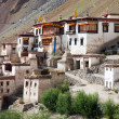 图库照片: Lingshed (Lingshet, Lingshot) gomp- buddhist monastery in Zanskar valley - Ladakh - Jamu and Kashmir - India