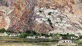 Karsha gompa - buddhist monastery in Zanskar valley - Ladakh - Jammu and Kashmir - India — Stock Photo