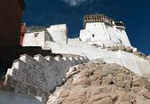 Namgyal Tsemo Gompa - Leh - Ladakh - Jaammu and Kashmir - India — Stock Photo