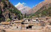 Pungmo village - Lower Dolpo - western Nepal — Stock Photo