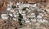 Karsha gompa - buddhist monastery in Zanskar valley - Ladakh - Jamu and Kashmir - India — Stock Photo