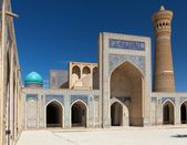 View of Kalon mosque and minaret - Bukhara - Uzbekistan — Stock Photo