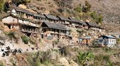 Srikot village - Village in western Nepal — Stock Photo