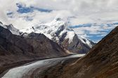 Durung Drung or Drang Drung Glacier near Pensi La pass on Zanskar road - Great Himalayan range - Zanskar - Ladakh - India — Stock Photo