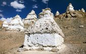 Stupas around Leh - Ladakh - India — Стоковое фото