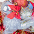 Stock Photo: Background of Christmas decorations