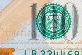 New U.S. 100 dollar bill — Stock Photo