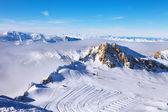 Winter Alps, christmas — Zdjęcie stockowe