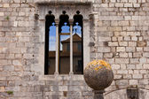 Cathedral in Girona, Spain, South, Europe, ancient stones, atmosphere of history — Stock Photo