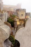 Portugal, Pena Palace, Sintra, royal residence of Prince Ferdina — Stock Photo