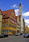 Rothenburg ob der tauber — Foto de Stock