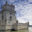 Tower of Belem in Lisbon, Portugal - Stock Photo
