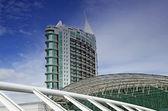 Lisabon, moderní budova — Stock fotografie