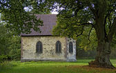 Little chapel of the castle of eisenbach, germany — Stockfoto
