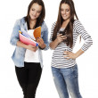 Two busy students — Stockfoto #12780871