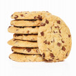 Stock Photo: Stapled cookies with standing cookie