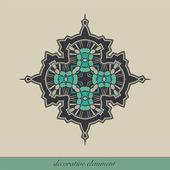 Decorative element — Foto de Stock