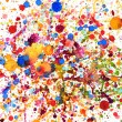 Colorful vivid water color splash — Stock Photo #13186310