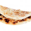 Indian roti isolated on white background — Stock Photo