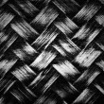 Woven bamboo wicker background — Stock Photo