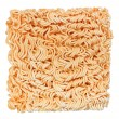 Uncooked instant noodle — Stock Photo