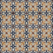 Portuguese Spanich Moroccan style vintage ceramic tile pattern — Stock Photo #35972443