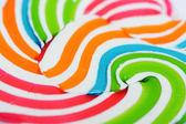 Vintage lollipop close-up background — Stock Photo