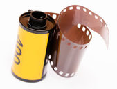 Vintage 35mm film roll — Stock Photo