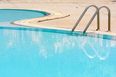 Casual swimming pool — Stock Photo
