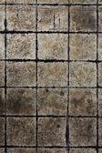 垃圾石砖地板背景 — 图库照片