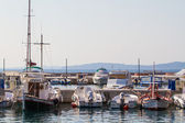 Boats at Harbor — Stock Photo