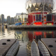 Stockfoto: False creek in Vancouver